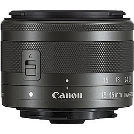 Canon EOS M6 Mark II schwarz + EF-M 15-45 mm IS STM