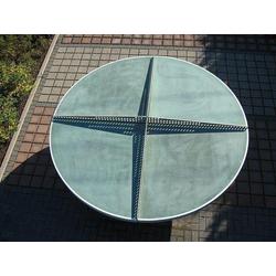 Runde Tischtennisplatte TTpur® aus Beton