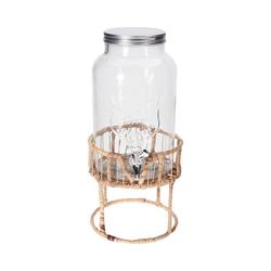 Koopmann Getränkespender Glas Getränkespender 5,5L
