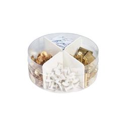 Herlitz Aufbewahrungsbox Schreibtisch-Mixbox 4in1 Pure Glam, über 300 Teile