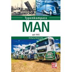Typenkompass: MAN: Buch von Wolfgang Westerwelle