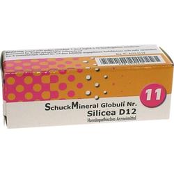 SCHUCKMINERAL Globuli 11 Silicea D12