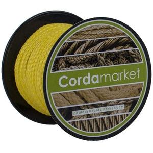 Cordamarket Dyneema 3 mm Seil, Unisex, für Erwachsene, Unisex-Erwachsene, CDMKDYA030015, gelb, 3mm a 15mts