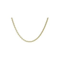 JuwelmaLux Collier Collier Gold Halsschmuck 45 cm (1-tlg), Damen Collier Gold 585/000, inkl. Schmuckschachtel