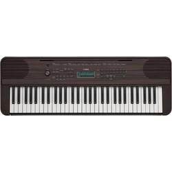 Yamaha PSR-E360DW Keyboard Walnuss