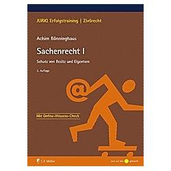 Sachenrecht I. Achim Bönninghaus  - Buch