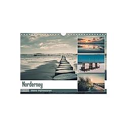 Mein Jahr auf Norderney (Wandkalender 2021 DIN A4 quer)
