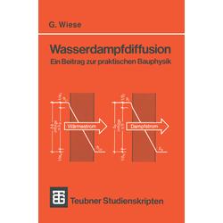 Wasserdampfdiffusion als Buch von Gerhard Wiese