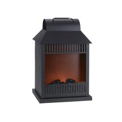 GILDE Laterne Kaminfeuer, LED, Deko-Kamin