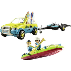 Playmobil® Freizeit Strandauto mit Kanuanhänger 70436
