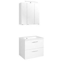 Badezimmermöbel Set in Weiß Waschtisch (2-teilig)