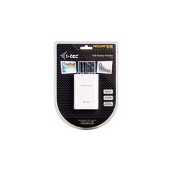 I-TEC FullHD 1920x1080 Px Externe Monitor Grafikkarte Adapter USB, 100 cm, USB 2.0 VGA Display Video Adapter