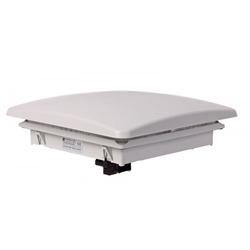 ELMEKO Dachlüfter DVL 440 mit Filtermatte und 4 Flachlüftern