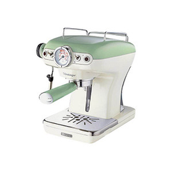 Ariete Vintage Espressomaschine grün