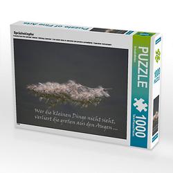 Sprücheklopfer Lege-Größe 64 x 48 cm Foto-Puzzle Bild von SchnelleWelten Puzzle