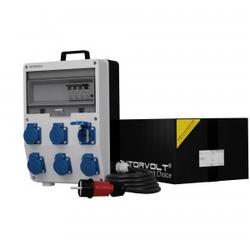 Stromverteiler TD-S/FI 6x230V SKH mit Kabel Baustromverteiler Doktorvolt® 0557