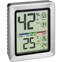 TFA Dostmann EXACTO Thermo-/Hygrometer Silber