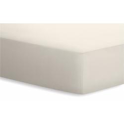 Schlafgut Spannbetttuch BASIC in leinen, 180 x 200 x 20 cm