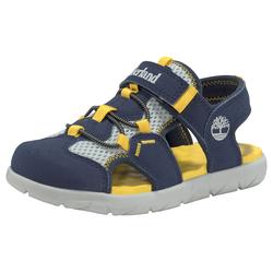 Timberland Outdoorsandale Perkins Row Fisherman blau Kinder Sandalen Übergrößen Spezialgrößen Schuhe Outdoor- Wanderschuhe