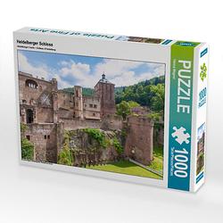 Heidelberger Schloss Lege-Größe 64 x 48 cm Foto-Puzzle Bild von Hanna Wagner Puzzle