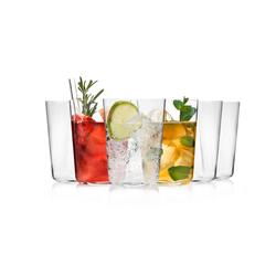 SÄNGER Gläser-Set Sidro, (6 tlg., Trinkgläserset aus Kristallglas 6 teilig) farblos Kristallgläser Gläser Glaswaren Haushaltswaren