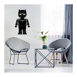 Wall-Art Wandtattoo Spielfigur Black Panther Tattoo (1 Stück) 49 cm x 80 cm x 0,1 cm