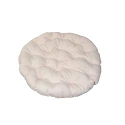 moebel-direkt-online Auflagekissen Papasan, (1 St), extra starke Vliesfüllung Ø 80 cm x 10 cm