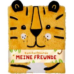 Freundebuch - Kuschelfreunde - Meine Freunde (Tiger): Buch von