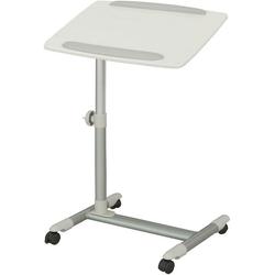 SoBuy Laptoptisch FBT07N2, Beistelltisch Pflegetisch Betttisch Tisch weiß