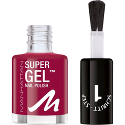 MANHATTAN Gel-Nagellack Super Gel rot