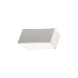 Fabas Luce LED-Deckenleuchte Lucas in weiß, 9,5 cm