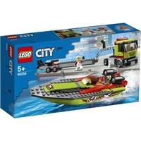 Lego City Rennboot-Transporter 60254