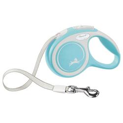 flexi Flexileine New Comfort Gurt, Kunststoff blau XS - 3 cm x 3 m