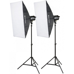 BRESSER Studioblitz BRM-300AM Studioblitz-Set 2x 300W