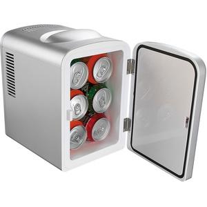 Mobiler Mini-Kühlschrank mit Wärmefunktion, 4 Liter, 12 & 230 V