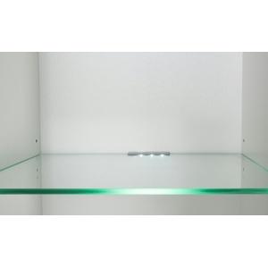 LED-Glasbodenbeleuchtung  Biano ¦ weiß ¦ Maße (cm): B: 11 H: 6