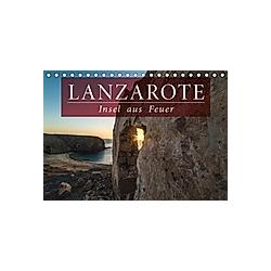 Lanzarote - Insel aus Feuer (Tischkalender 2021 DIN A5 quer) - Kalender