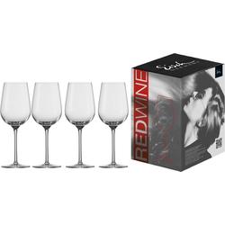Eisch Rotweinglas Vinezza (4-tlg), bleifreies Kristallglas, 430 ml