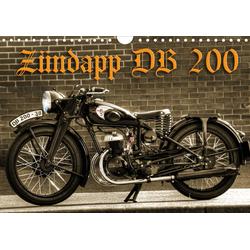 Zündapp DB 200 (Wandkalender 2021 DIN A4 quer)