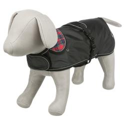 Trixie Mantel Hermy schwarz/rot / speziell für Dackel, Größe: S