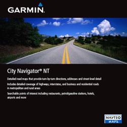 Garmin Datenkarte, CityNavigator Südamerika NT (microSD/SD)