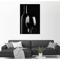 Posterlounge Wandbild, Guter Rotwein 100 cm x 150 cm