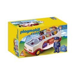 Playmobil® Spielfigur PLAYMOBIL® 6773 1-2-3: Reisebus