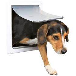 TRIXIE Haustierklappe S-M, für Hunde, BxH: 30x36 cm