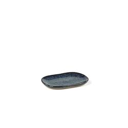 Serax Merci rechteckiger Teller N°4 S blau/grau