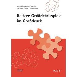Heitere Gedächtnisspiele im Grossdruck / Heitere Gedächtnisspiele im Großdruck, Band 2