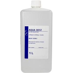 Aqua Dest 1 L destilliertes Wasser