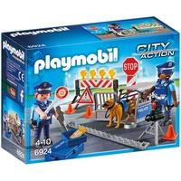 Playmobil City Action Anstelle der Polizeisperre Spiel