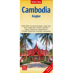 Nelles Map Cambodia - Angkor 1 : 1 500 000