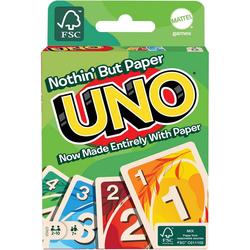 Mattel games Spiel, UNO 100% Papier